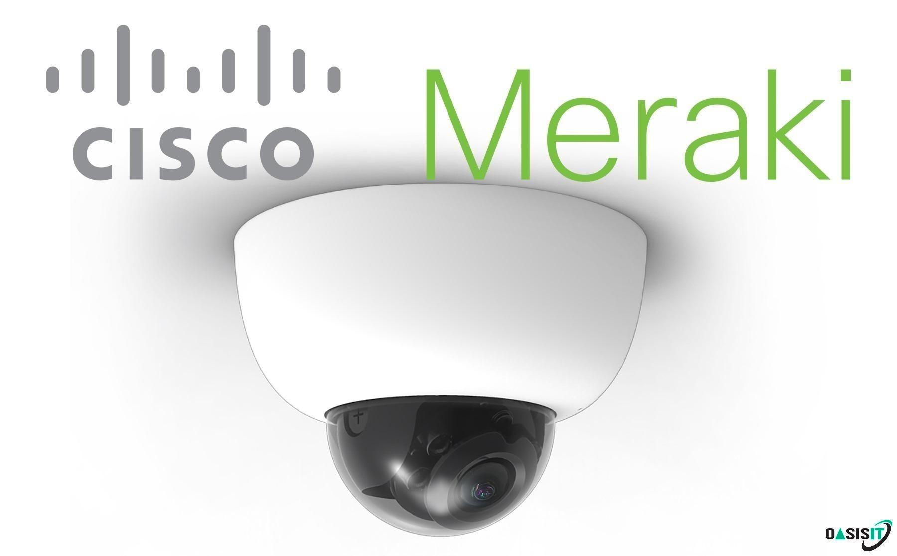 Cisco Meraki MV Cloud Managed Smart Cameras