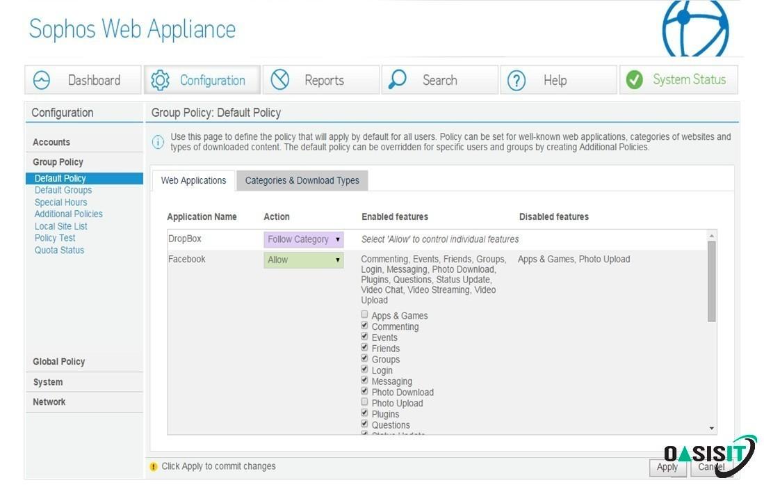 Secure Web Appliance